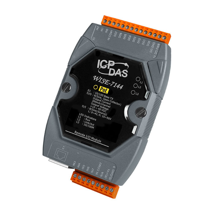 WISE-7144CR-ModbusTCP-IO-Module buy online at ICPDAS-EUROPE