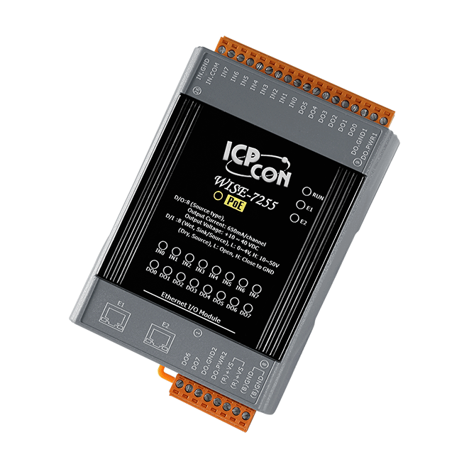 WISE-7255-PoE-Controller buy online at ICPDAS-EUROPE